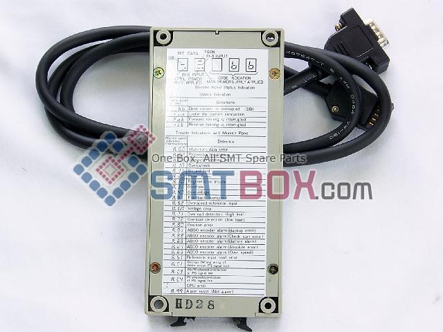 FUJI CP642 CP643 CP6 4000 SERVOPACK YASKAWA Digital Operator Part Number H1319A JUSP OP02A side b