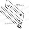 Hitachi Sanyo TCM X100 NOZZLE 6300617443 L Type 6300617450 U Type side a
