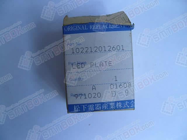 Panasonic Original SMT Replacement Spare PartMoving Led Plate102212012601