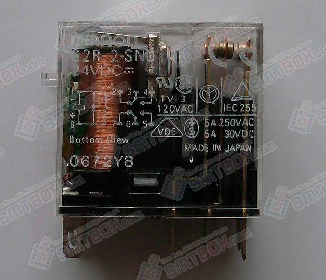 Panasonic Panasert CM402M L OMRON LED indicator and diode Relay G2R 2 SND
