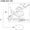 FUJI QP 242E 10 QP 242E(10JE) Nozzle Part No.ABHPN8164 Rating S R30B 025 270 side a