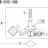 FUJI QP 242E 10 QP 242E(10JE) Nozzle Part No.ABHPN8525 Rating I S12B 010 100 side a
