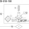 FUJI QP 242E 10 QP 242E(10JE) Nozzle Part No.ABHPN8544 Rating I S12B 018 100 side a