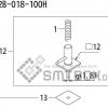 FUJI QP 242E 10 QP 242E(10JE) Nozzle Part No.ABHPN8750 Rating I S12B 018 100H side a