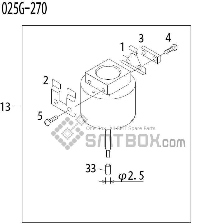 FUJI QP 341E MM 04 Nozzle Part No.ADBPN8194 Rating 025G 270 side a