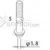 FUJI XP 141E XP 142E XP 143E Nozzle ADEPN8050 Diameter 1.8 side a