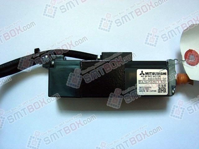 HitachiGXHNL AXISMotorMisubishiAC Servo MotorHC AQ0336BS S4VG1552011079