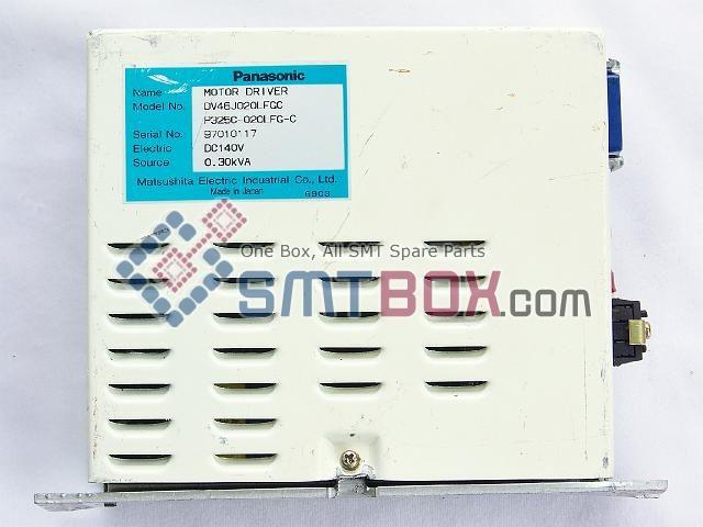 Panasonic MV2F(NM 2558 NM 2559) Part Name AC Servo Motor Driver Part Number DV46J020LFGC P325C 020LFG C