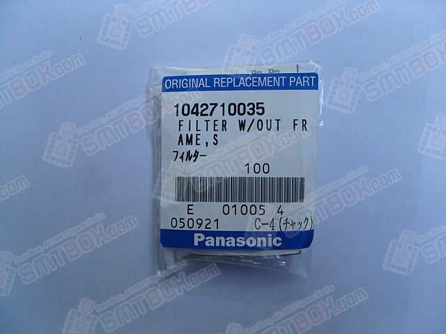 Panasonic Original SMT Replacement Spare PartFilter W.Out Frame1042710035