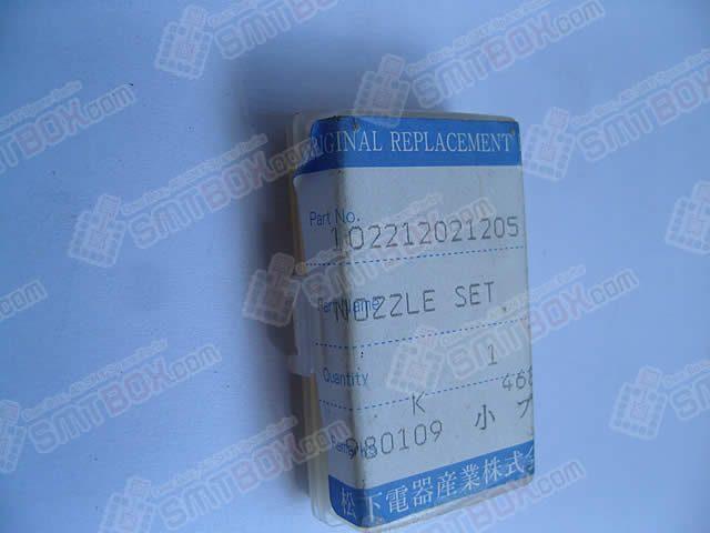 Panasonic Original SMT Replacement Spare PartNozzle Set102212021205