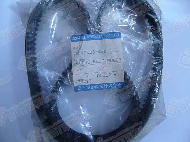 Panasonic Original SMT Replacement Spare PartRubber Timing Square BeltN641250S 428