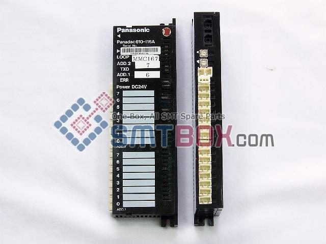 Panasonic PanadacPart Name Optical Input Output UnitPart Number Panadac 610 I16APower DC24V
