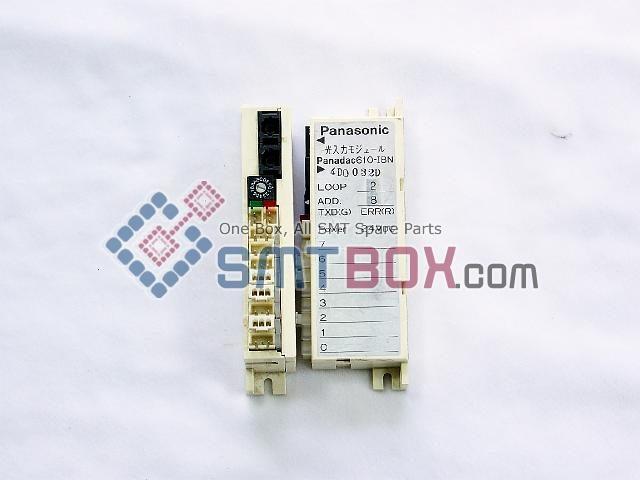 Panasonic PanadacPart Name Optical Input Output UnitPart Number Panadac 610 I8N APower DC24V