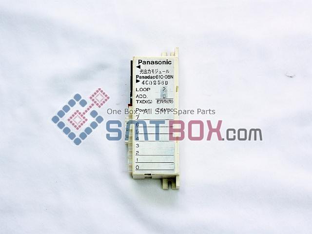 Panasonic PanadacPart Name Optical Input Output UnitPart Number Panadac 610 O8N APower DC24V