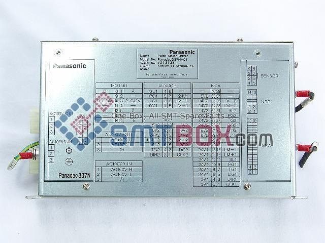 Panasonic Pulse Motor Driver Panadac P337N 01 Part Name N1P337N01 AC100V 50 60Hz 2A