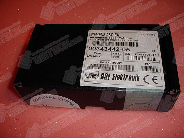 SIPLACE SIEMENSIncremental Shaft Encoder Y AXIS Scanner Head00343442 05