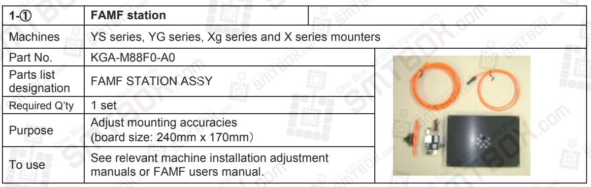Yamaha FAMF Station Assy KGA-M88F0-A0 For Ys Yg Xg And X Series Mounters