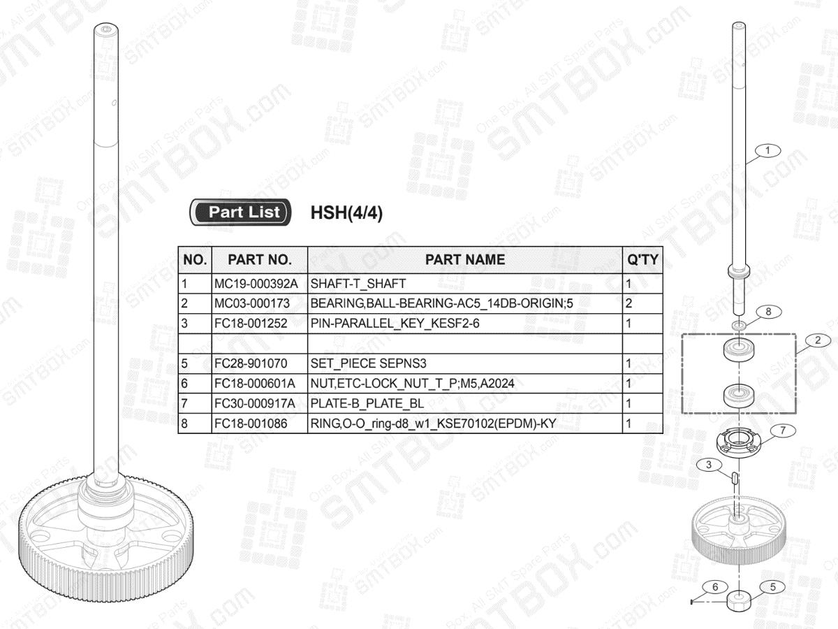 HSH(4/4) (Option) Auto Sensing Head on Hanwha (Samsung Techwin) Excellent Modular EXCEN PRO (D) (M) (L)
