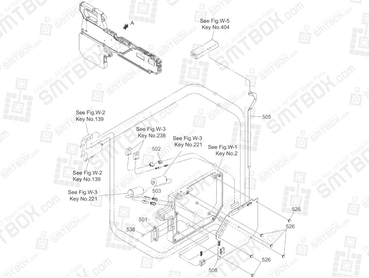 Motor Control PCB of Hitachi SMT Tape Feeder Part List of GT-18080B GT-18081B GT-18082B GT-18083B