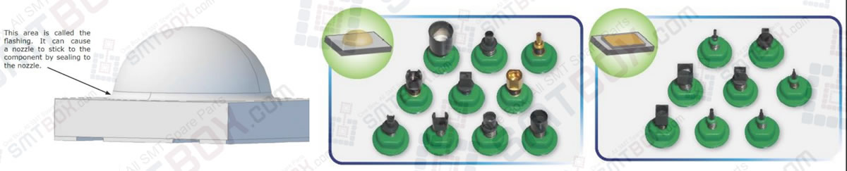 SMT LED Light Emitting Diode Vacuum Nozzles Is The Key Items To Help Reduce Mis-Pick Rates